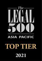 The Legal 500 Top Tier 2021